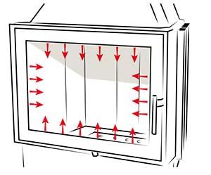 система чистое стекло в топках КОБОК